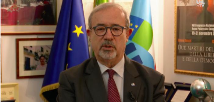 Dichiarazione del Segretario generale Uilp Carmelo Barbagallo