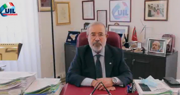 L'augurio del Segretario generale Uil Pensionati Carmelo Barbagallo in occasione delle festività natalizie 2020/2021