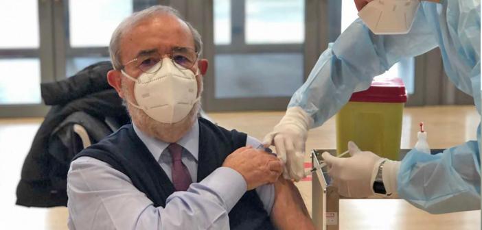 Barbagallo: sono felice di essermi vaccinato oggi con Astrazeneca
