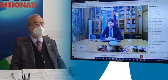 Intervento del Segretario generale Uilp Carmelo Barbagallo al Webinar 'Oltre la Non Autosufficienza. Diritto alla Salute e alla vita indipendente''