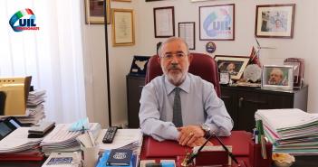 Il saluto del Segretario generale Uilp Carmelo Barbagallo in occasione della pausa estiva