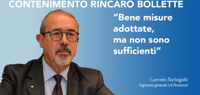 """Contenimento rincaro bollette, Barbagallo: """"Bene misure adottate, ma non sono sufficienti"""""""